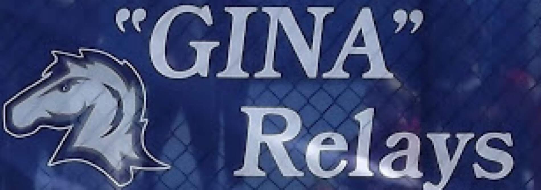 blue banner advertising gina relays