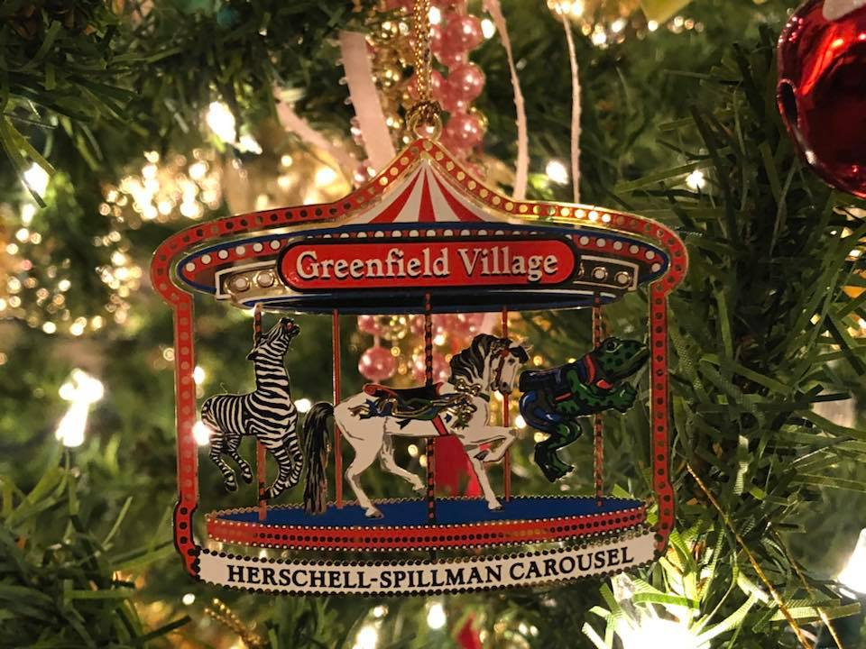 Greenfield Village Ornament