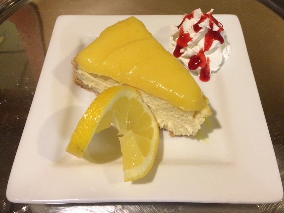 Lemon dessert at Johnny T's Bistro
