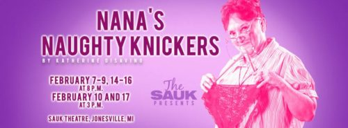 Nana's Naughty Knickers live theater play show times